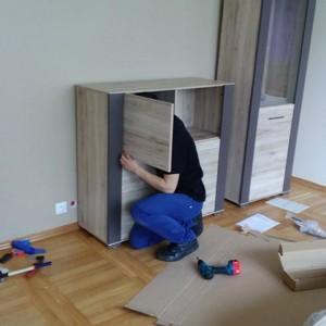 składanie szafki