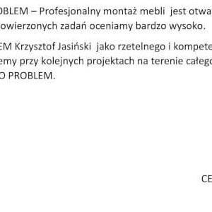 Referencje NO-PROBLEM