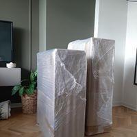 zapakowane meble